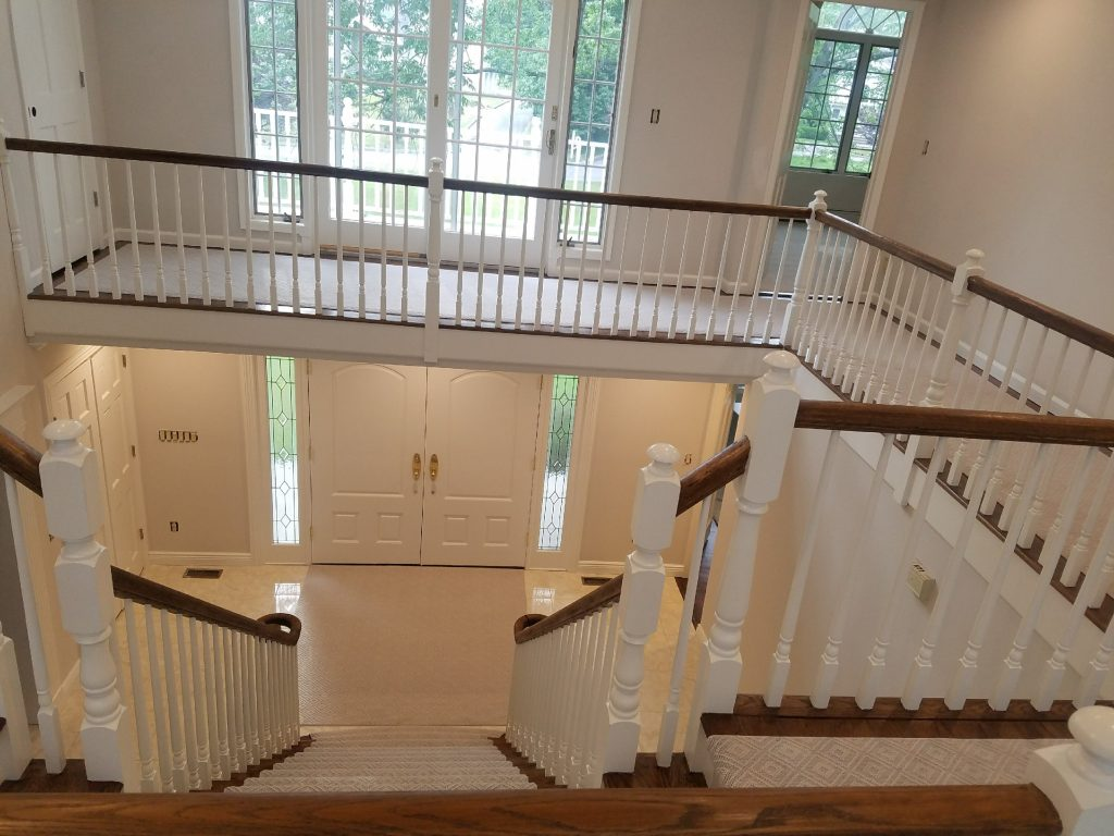 Bedford Home: Paint, Chandelier, Carpeting